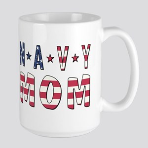 NAVY MOM Mugs